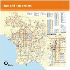 Metro Expo Line Map by Los Angeles By Bus Recipe For Adventures