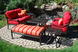 decorating awesome sunbrella cushions for comfortable seat ideas