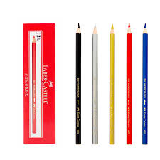 12pcs faber castell colored pencils professional artist painting