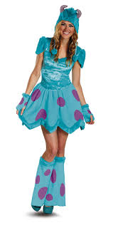 sully costume disguise disney pixar monsters sassy sulley