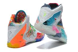 best nike lebron xi premium basketball shoes for in colorful