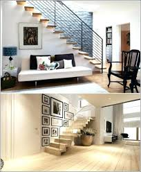 Awesome Wall Decor by Curved Staircase Wall Decorating Ideas Basement Stair Decorate