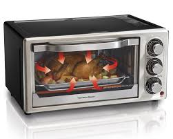 amazon com hamilton beach 31512 convection 6 slice toaster oven
