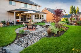 Modern Outdoor Furniture Designs For Landscape Large Backyard With - Landscape designs for large backyards