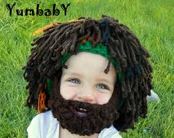 Rasta Man Halloween Costume Wig Beard Hat Halloween Costume Color Hobo Mad