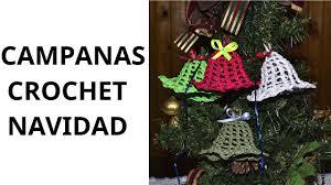 campanas navidad en tejido crochet tutorial paso a paso