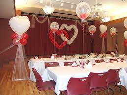 red and white wedding decorations romantic decoration simple