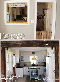 Kitchen Before And After by Kitchen Wall Demolition And Renovation Simplymaggie Com