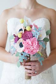 bouquet diy benzie a fanfare of felt felt flower bouquet diy
