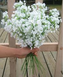 silk baby s breath 40 5cm gypsophila baby s breath artificial silk flowers plant