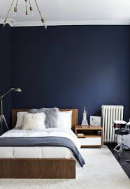 decoration de chambre de nuit chambre bleu nuit idées décoration intérieure farik us