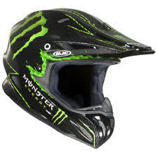 monster motocross helmets off road motocross atv hjc motorcycle helmets ebay
