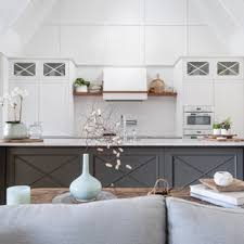 white shaker kitchen cabinets to ceiling 75 beautiful vaulted ceiling kitchen pictures ideas