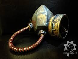 gas mask for halloween costume fallout wasteland functional gas mask respirator steampunk