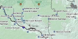 springs washington map blewett i 90 washington state parks and recreation commission