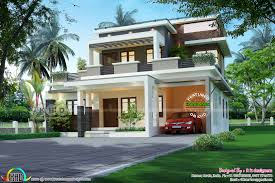 u20b952 lakhs cost estimated contemporary style house plan kerala