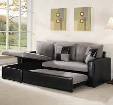 Pull Out Sectional Sofa Living Room Sectional Sofa With Pull Out Sleeper Pertaining To