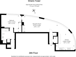 1 bedroom flat for sale in ontario tower 4 fairmont avenue isle