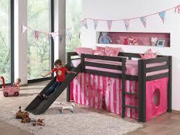 chambre enfant toboggan chambre d enfant 7 lit mezzanine enfant avec toboggan en