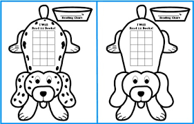 printable homework incentive charts free sticker chart templates dog shaped reading sticker charts for