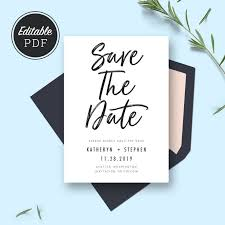 save the date cards wedding best 25 minimal wedding save the dates ideas on save
