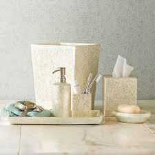 Shell Bathroom Accessories by Capiz Shell Bath Accessories Longworth Master Pinterest Bath
