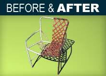 patio furniture repair outdoor furniture finishing patio guys