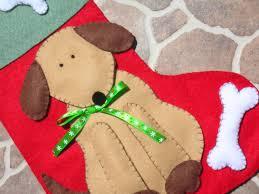 cute dog christmas stocking u2026 pinteres u2026