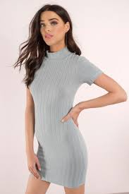 grey bodycon dress light grey bodycon dress mock neck dress bodycon dress
