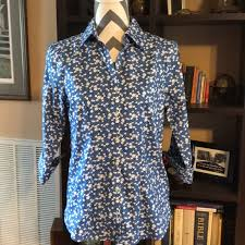 lands end blouses 67 lands end tops lands end blouse from s closet on