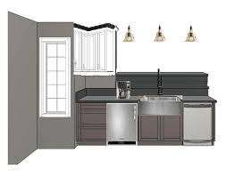 kitchen sink cabinet with dishwasher working on the kitchen peninsula let s the