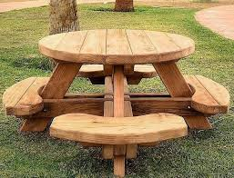 impressive outstanding 21 wooden picnic tables plans and