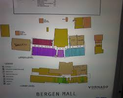 Westfield Garden State Plaza Map by Bergen Mall Paramus New Jersey Labelscar