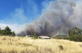 Washington Wildfire Area by Fire Near Davenport Grows To 1 600 Acres The Spokesman Review