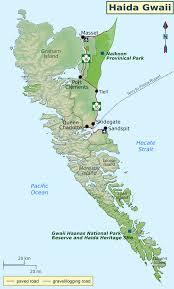 World Of Work Map by Haida Gwaii U2013 Travel Guide At Wikivoyage