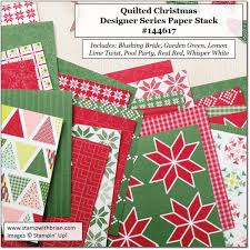 quilted christmas sneak peek quilted christmas stamp with brian