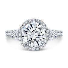 rings with brilliant images 2 10 ct gia certified brilliant round cut halo diamond engagement jpg