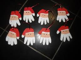 salt dough santa ornaments learning to play and to learn