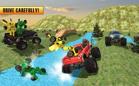 monster truck farm show robo transporter monster truck android apps on google play