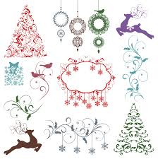snow covered christmas tree psd background free photoshop