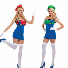 cheap costumes for adults 55 mario and luigi costumes for women womens mario and luigi