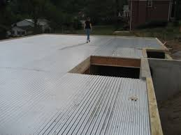 metal deck the labbe house project