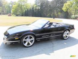 1988 iroc camaro 1988 black chevrolet camaro z28 iroc z convertible 28196413 photo