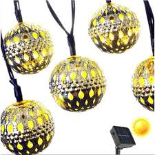 Solar White Christmas Lights by Online Get Cheap Led Globe Christmas Lights Aliexpress Com