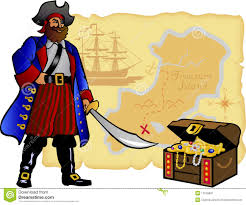 Treasure Map Clipart Pirate Map And Treasure Chest Eps Royalty Free Stock Photography
