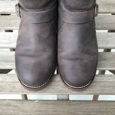 ugg noira buckle calf boots 69 ugg shoes ugg noira leather waterproof biker boots us 7 5