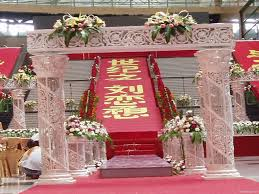 modern style pillars for wedding decorations with online buy