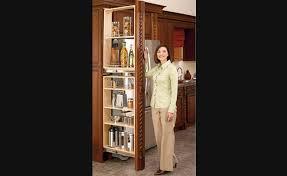 armoire coulissante cuisine garde manger étroit coulissant rangement pour armoires de cuisine
