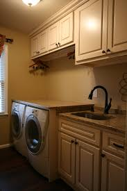 small basement laundry room after makeover lighting ideas with