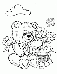 100 teddy bear coloring pages printable gummy bear coloring